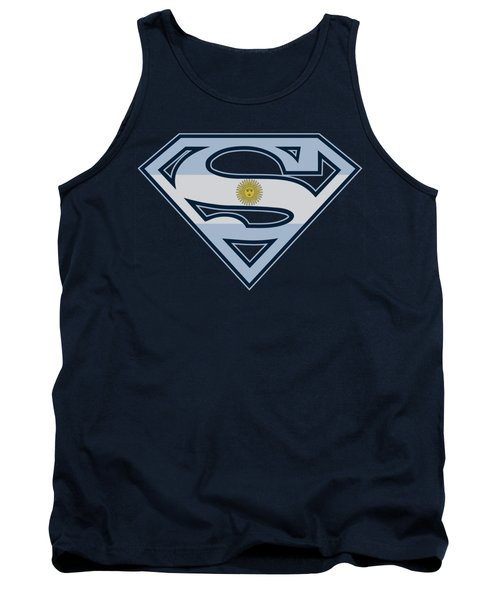 Superman - Argentinian Shield Tank Top
