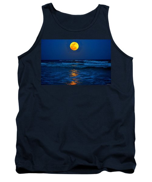 Supermoon Rising On Navarre Beach 20120505c Tank Top