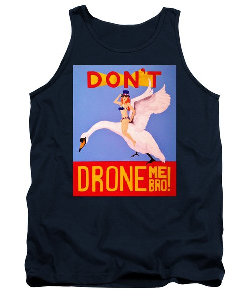 Tank Top featuring the painting Swan Song by Rand Swift
