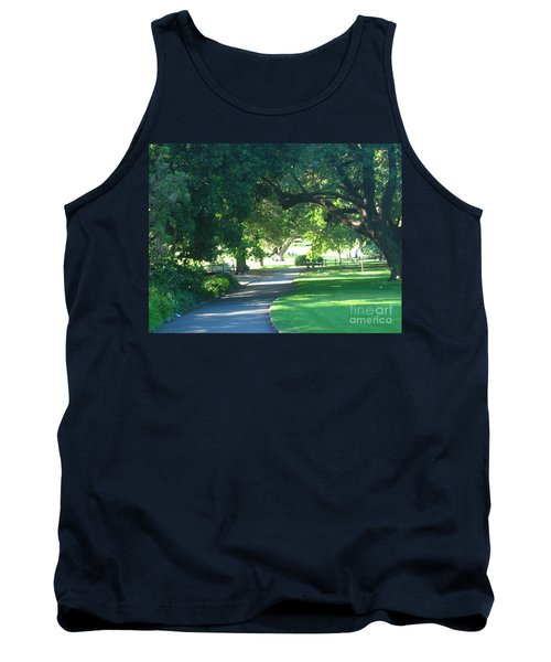 Sydney Botanical Gardens Walk Tank Top by Leanne Seymour