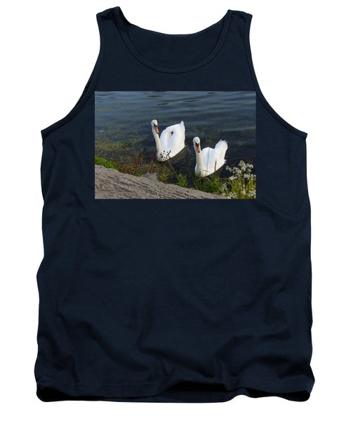 Tank Top featuring the photograph Synchronicity by Lingfai Leung