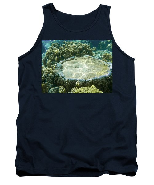 Table Top Coral Tank Top by Denise Bird