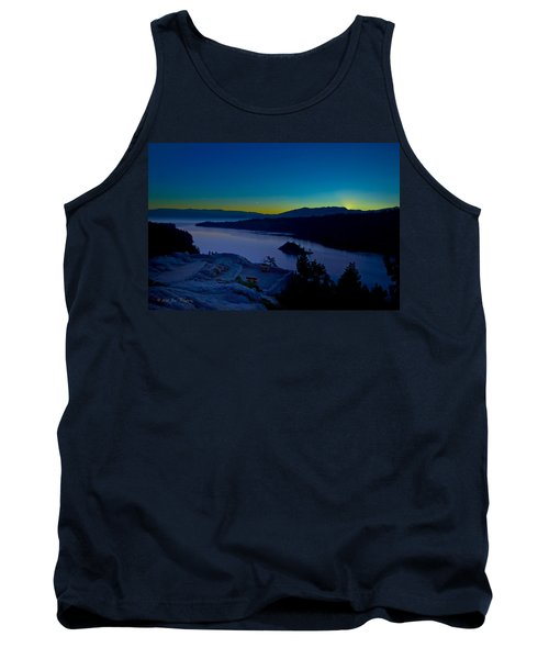 Tank Top featuring the photograph Tahoe Sunrise by Jim Thompson