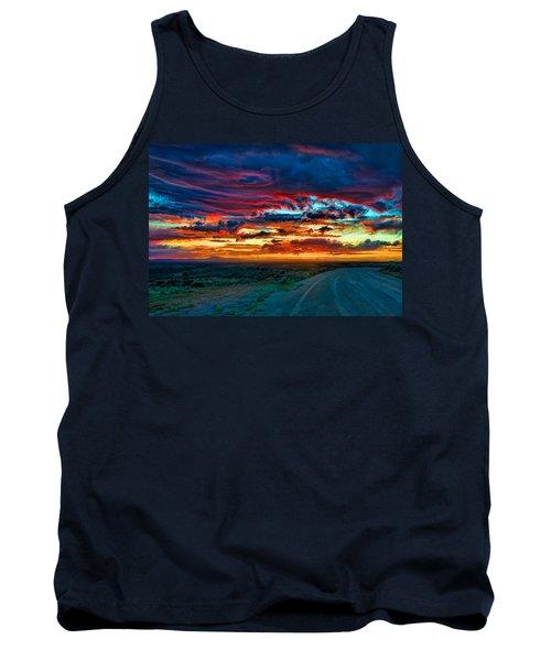 Taos Sunset Iv Tank Top
