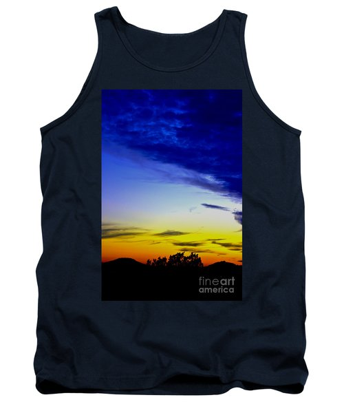 Texas Hill Country Sunset Tank Top