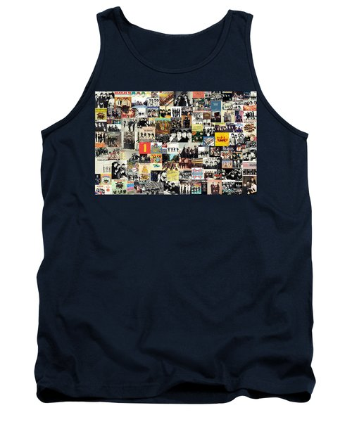The Beatles Collage Tank Top