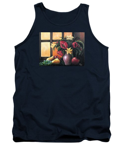 Tank Top featuring the painting The Beauty Of The Moment   by Vesna Martinjak