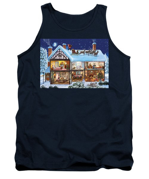 Christmas House Tank Top