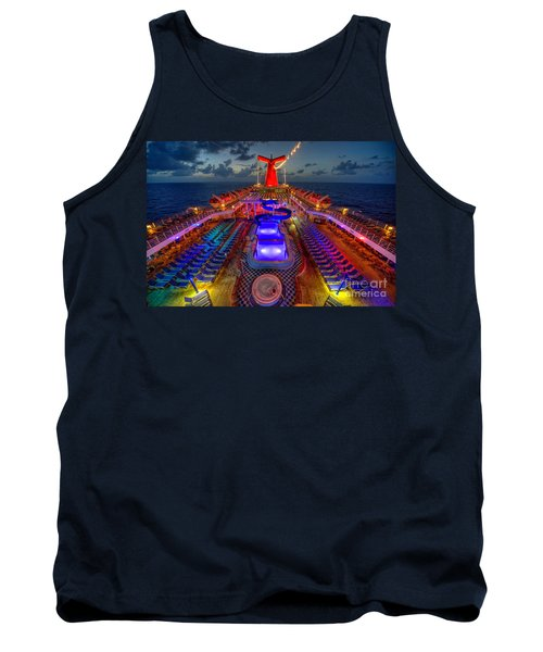 The Cruise Lights At Night Tank Top