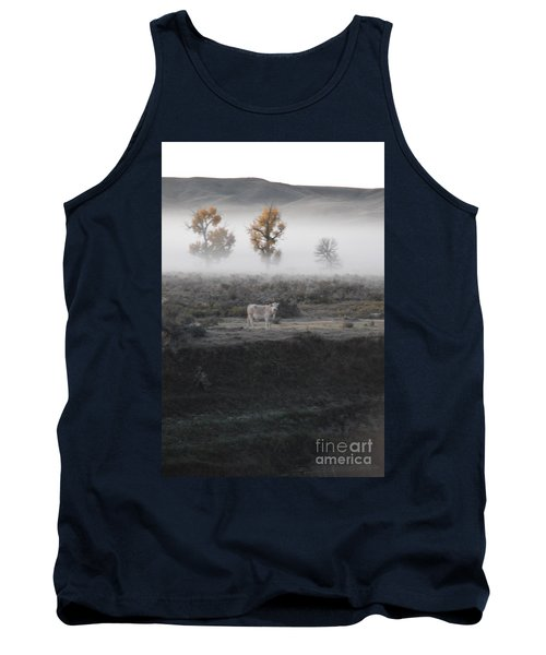 Tank Top featuring the photograph The Dream Cow Of Mourning by Brian Boyle