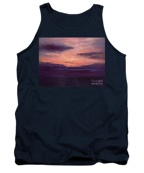 The End Of A Perfect Day Tank Top by Valerie Travers