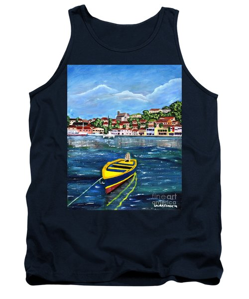 The Fishing Boat  Tank Top