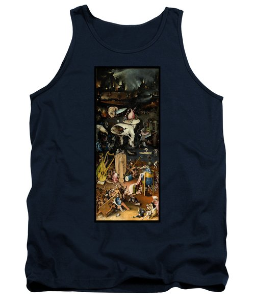 The Garden Of Earthly Delights. Right Panel Tank Top by Hieronymus Bosch