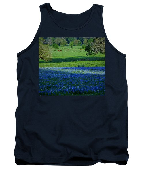 Tank Top featuring the photograph The Pastures Of Central Texas by John Glass