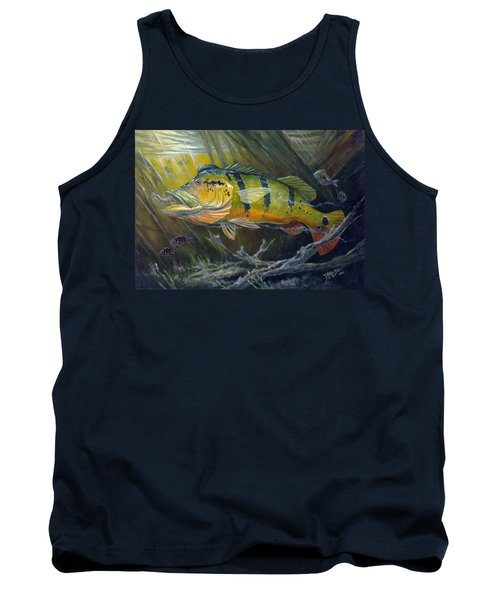The Great Peacock Bass Tank Top
