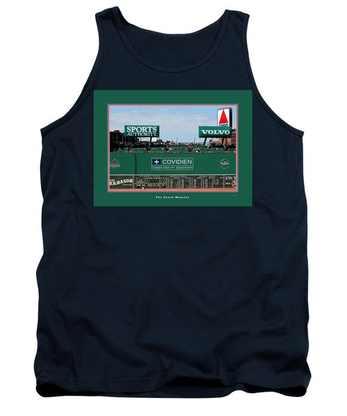 The Green Monster Fenway Park Tank Top
