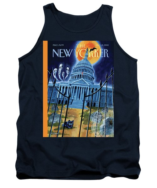 The House Republicans Haunt The Captiol Building Tank Top