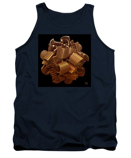 Tank Top featuring the digital art The Interpretation Of Signs And Portents by Manny Lorenzo