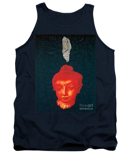 Tank Top featuring the painting The Light Of Face_ Sold by Fei A
