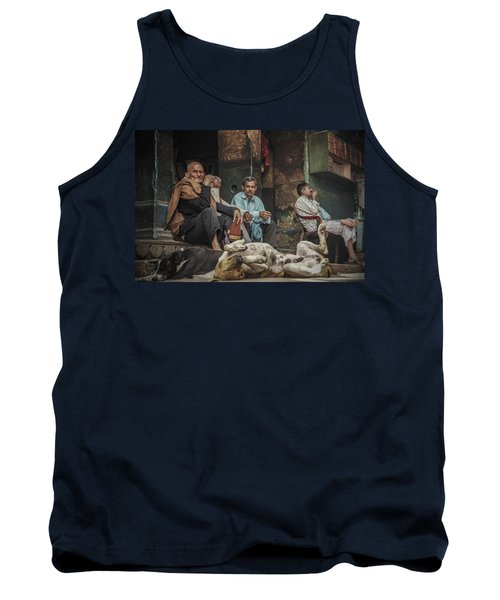 The Men Mourn Tank Top