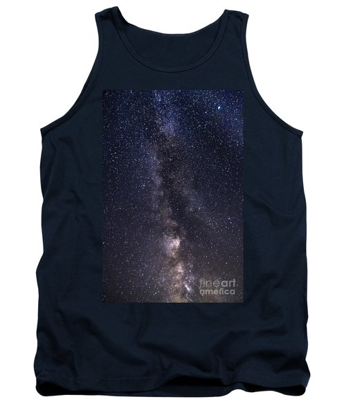 The Milky Way From Phippsburg Maine Usa Tank Top by Patrick Fennell