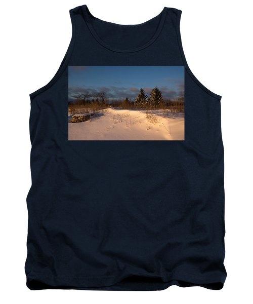 The Morning After The Snowstorm Tank Top