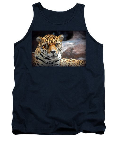 The Ole Leopard Don't Change His Spots Tank Top by Lynn Sprowl