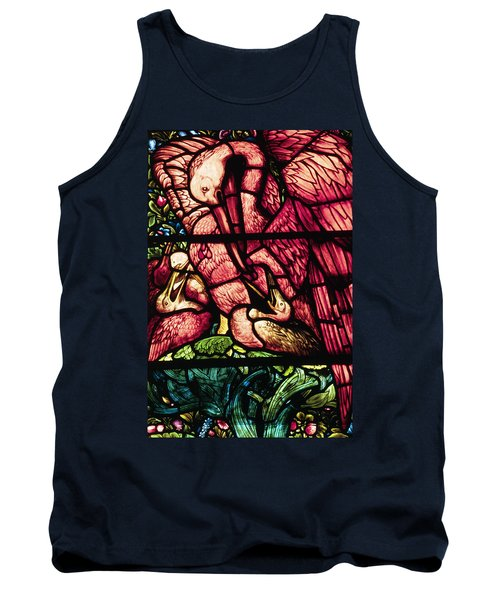 The Pelicans In Stained Glass Tank Top