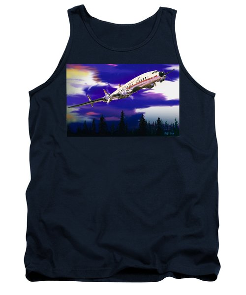 The Queen Of The Fleet Leaving Seattle Tank Top by J Griff Griffin