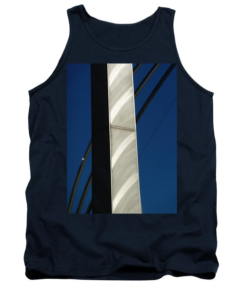 The Sail Sculpture  Tank Top by Steve Taylor