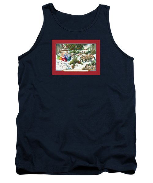 The Twelve Days Of Christmas Tank Top