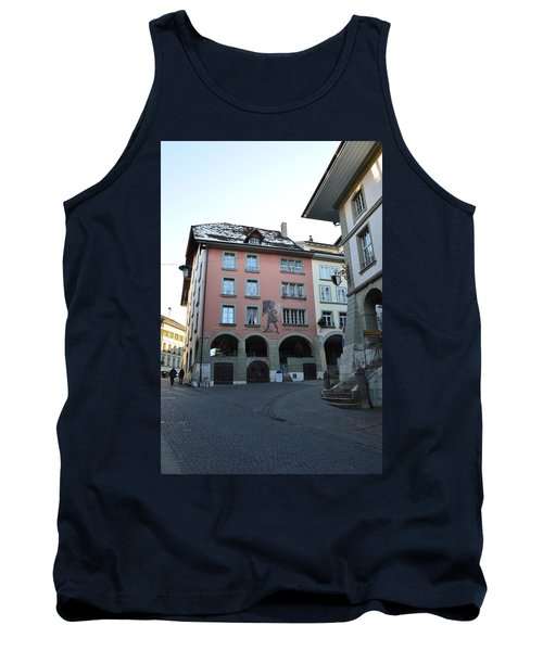 Tank Top featuring the photograph The Upper Town by Felicia Tica