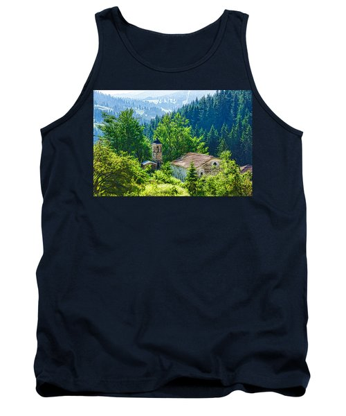 The Village Church - Impressions Of Mountains And Forests Tank Top