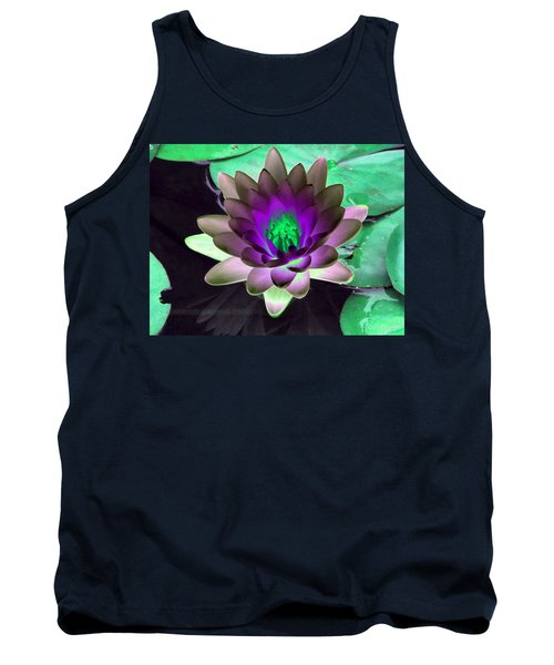 Tank Top featuring the photograph The Water Lilies Collection - Photopower 1114 by Pamela Critchlow