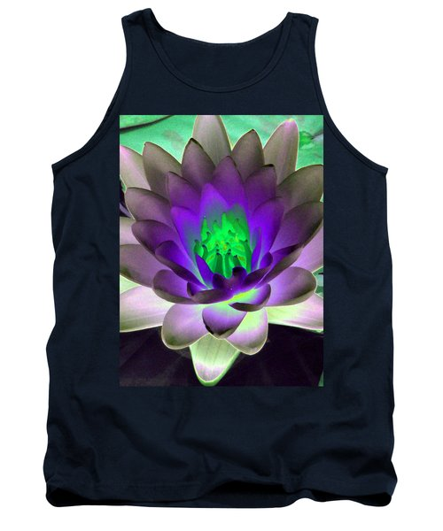 Tank Top featuring the photograph The Water Lilies Collection - Photopower 1115 by Pamela Critchlow