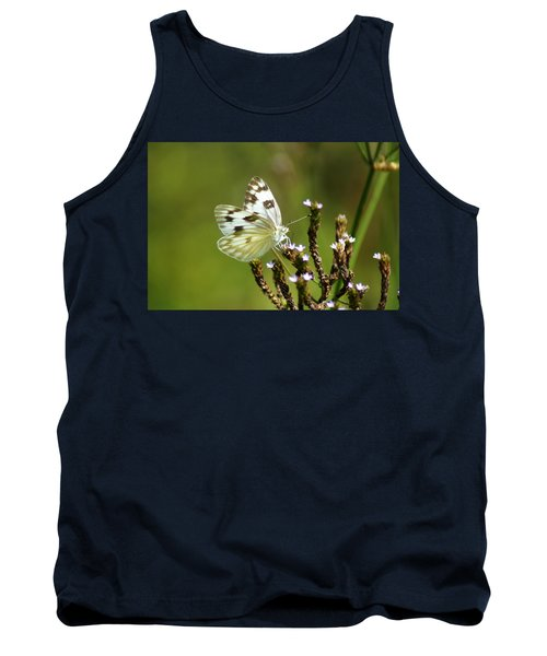 The Western White Tank Top