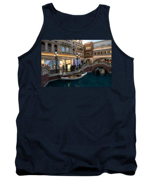 It's Not Venice - The White Wedding Gondola Tank Top