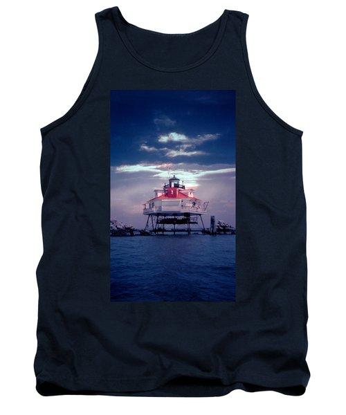 Thomas Pt.  Shoal Lighthouse Tank Top
