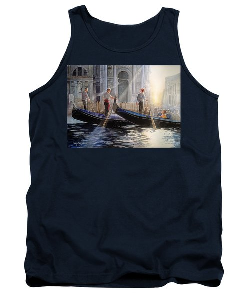Three Gondoliers Tank Top