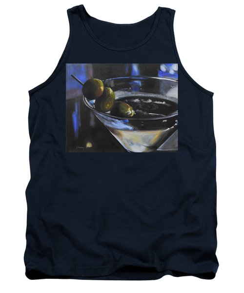 Three Olive Martini Tank Top