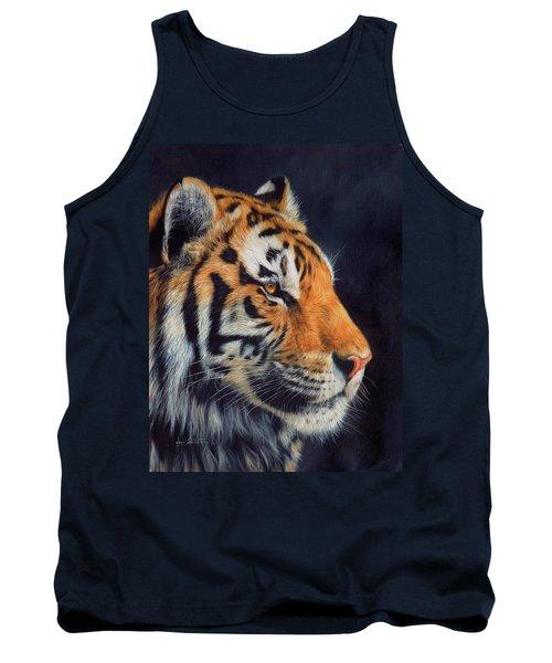 Tiger Profile Tank Top