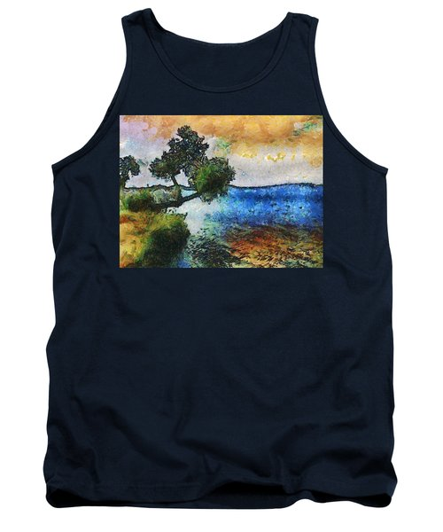 Time Well Spent - Medina Lake Tank Top