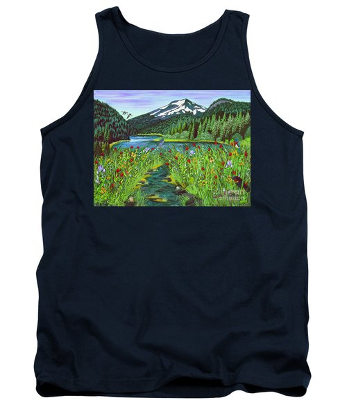 Todd Lake Mt. Bachelor Tank Top