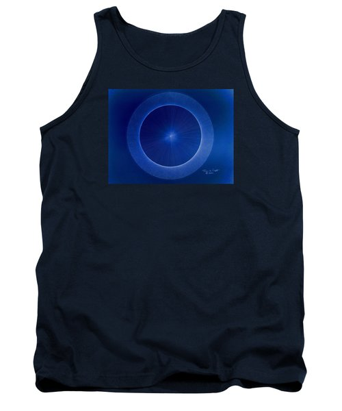Tank Top featuring the drawing Towards Pi 3.141552779 Hand Drawn by Jason Padgett