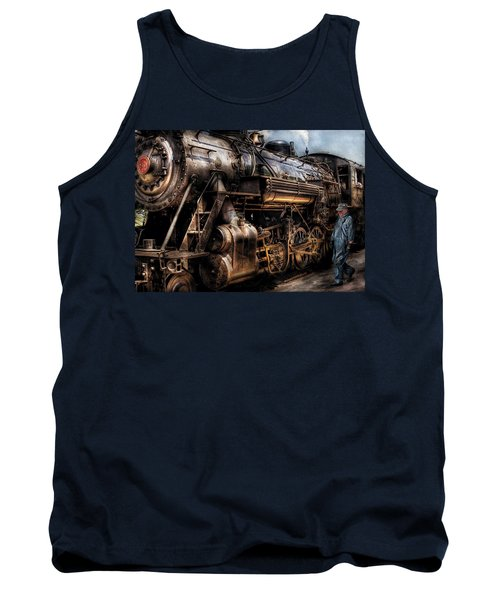 Train - Engine -  Now Boarding Tank Top