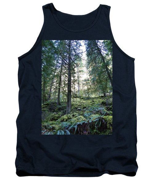 Tank Top featuring the photograph Treequility by Athena Mckinzie