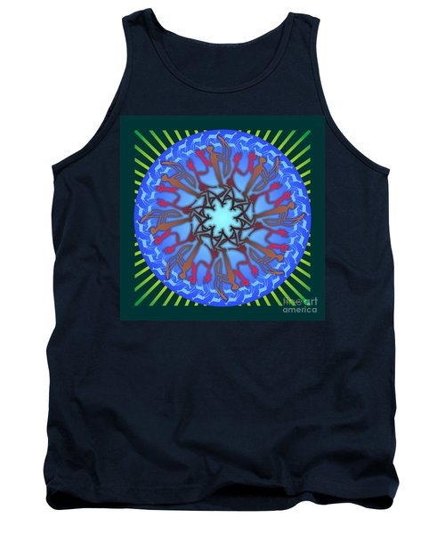 Tribal Hunt And Blessing Tank Top