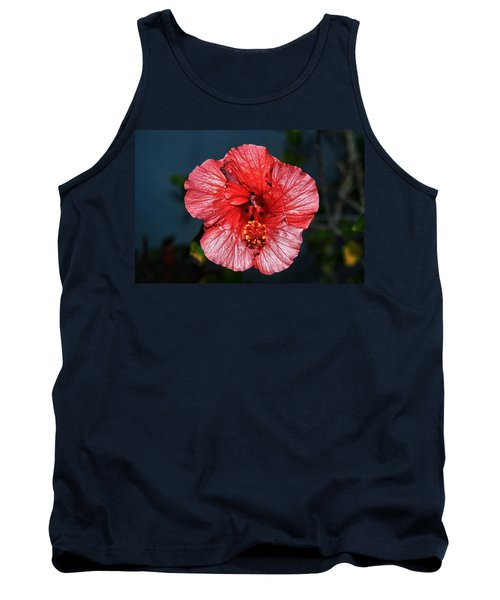 Tropical Burst Subdued Tank Top