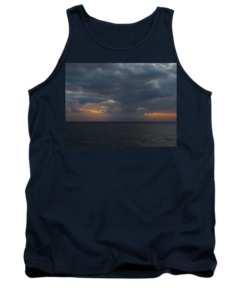 Tank Top featuring the photograph Troubled Skies by Jennifer Wheatley Wolf