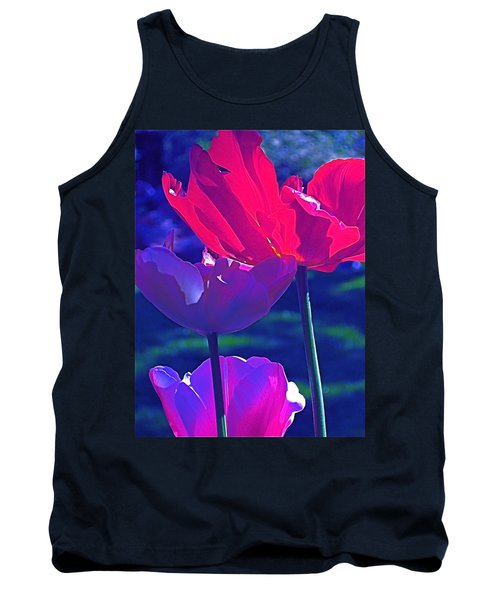 Tank Top featuring the photograph Tulip 3 by Pamela Cooper